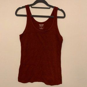 5/$25 Mossimo tank top Maroon Large